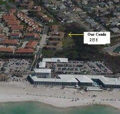Arial View from Beach