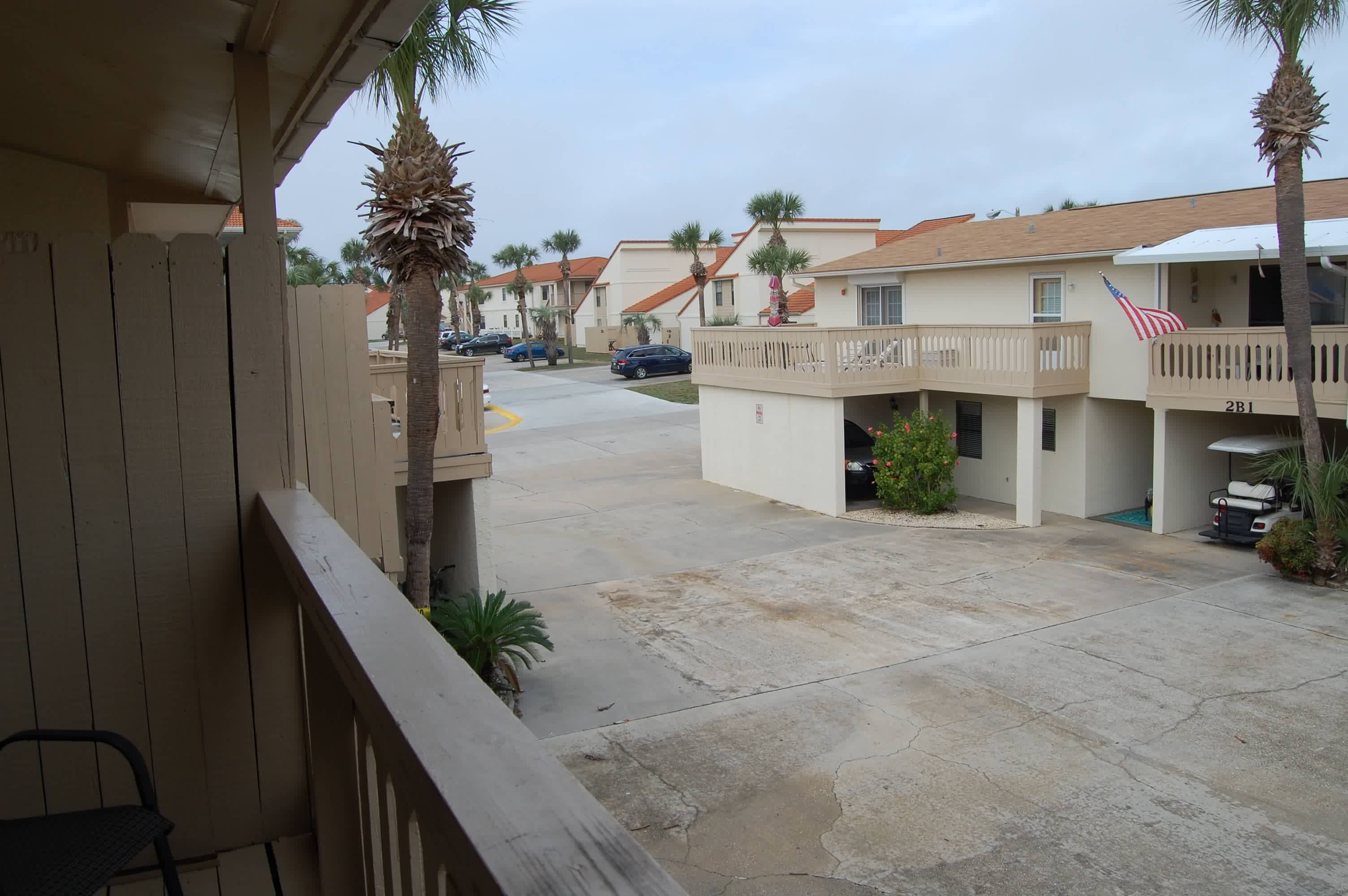 View from 3rd bedroom balcony