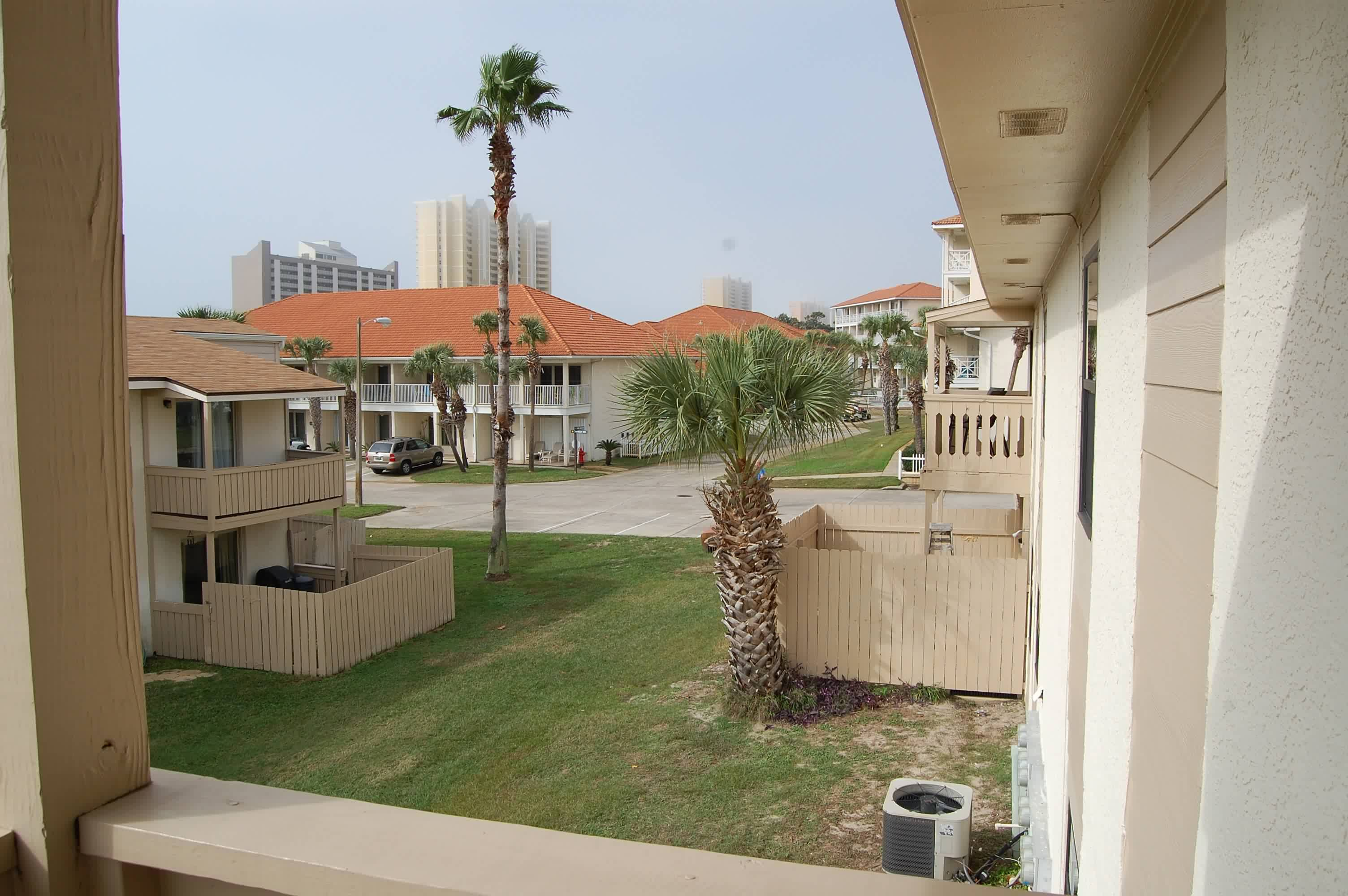 Master bedroom balcony view to the west